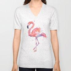 Flamingo Unisex V-Neck