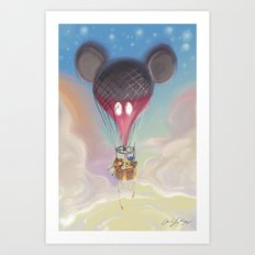 Come Fly With Me Art Print