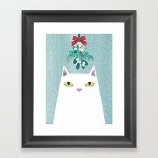 Mistletoe? Framed Art Print