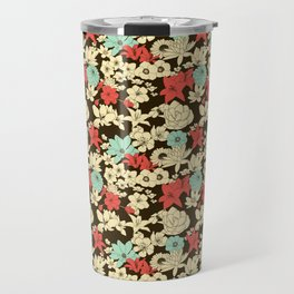 Flower Market Travel Mug
