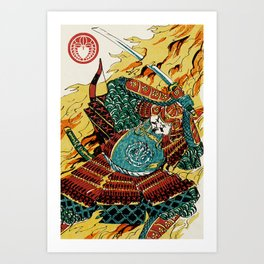 Slice & Dice - Hero Art Print