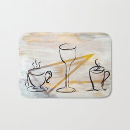 Beverage of Choice Bath Mat