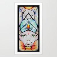 Light the Candle Art Print