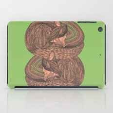 Sleeping foxes iPad Case