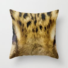 Eye Of The Tiger - Painting Style Throw Pillow