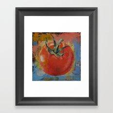 Vine Tomato Framed Art Print