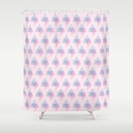 Crystal Gems Shower Curtain
