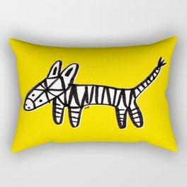 Z is for Zebra Rectangular Pillow