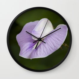 Butterfly Pea Flower Wall Clock