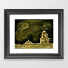 sin titulo Framed Art Print