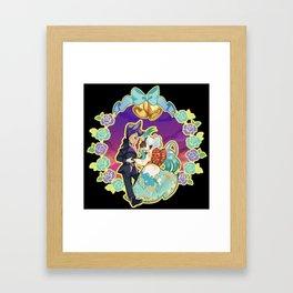 Happy Wedding: Gabriel x Jubilee Framed Art Print