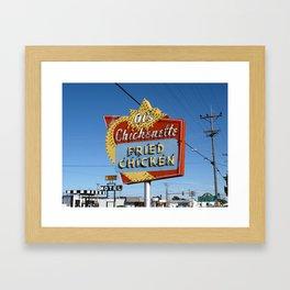 Hays, Kansas - Al's Chickenette 2009 Framed Art Print