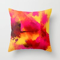 persona Throw Pillows featuring clown persona by R,oh