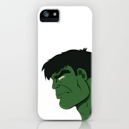 Hulk Stare Down iPhone Case