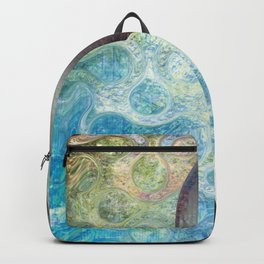 Abstract Colorful Heart sketching design Backpack