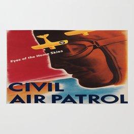 Vintage poster - Civil Air Patrol Rug