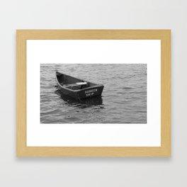 Sunken Ship! Framed Art Print