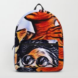 Love Your Self African American Black Woman Backpack