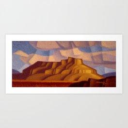 Undo Butte Art Print