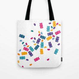 Sweet Jelly Beans & Gummy Bears Tote Bag