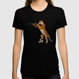 The Hunted becomes the Hunter T-shirt