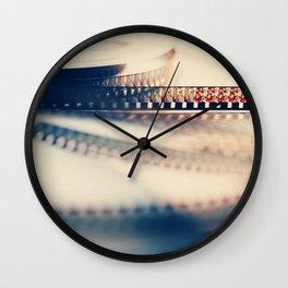 super 8 film II Wall Clock