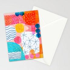Felt Pen Happiness Stationery Cards
