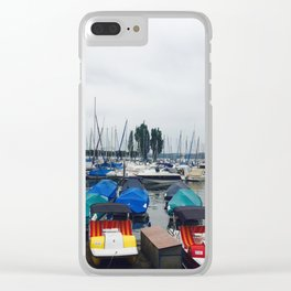 Seaport Photography Clear iPhone Case