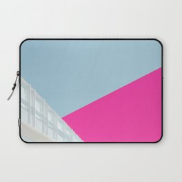 Duo Architecture Art | Pink & Blue Laptop Sleeve