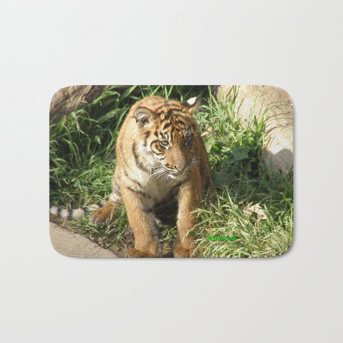 Young Tiger Bath Mat