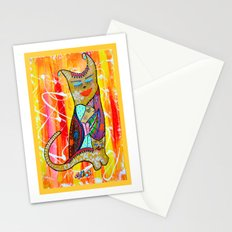CAT OR TWO Stationery Cards