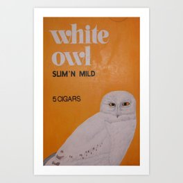 White Owl Cigars Art Print