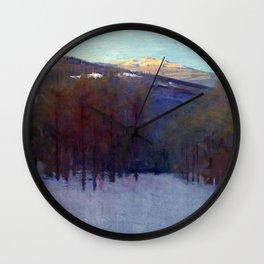 Abbott Handerson Thayer Mount Monadnock Wall Clock