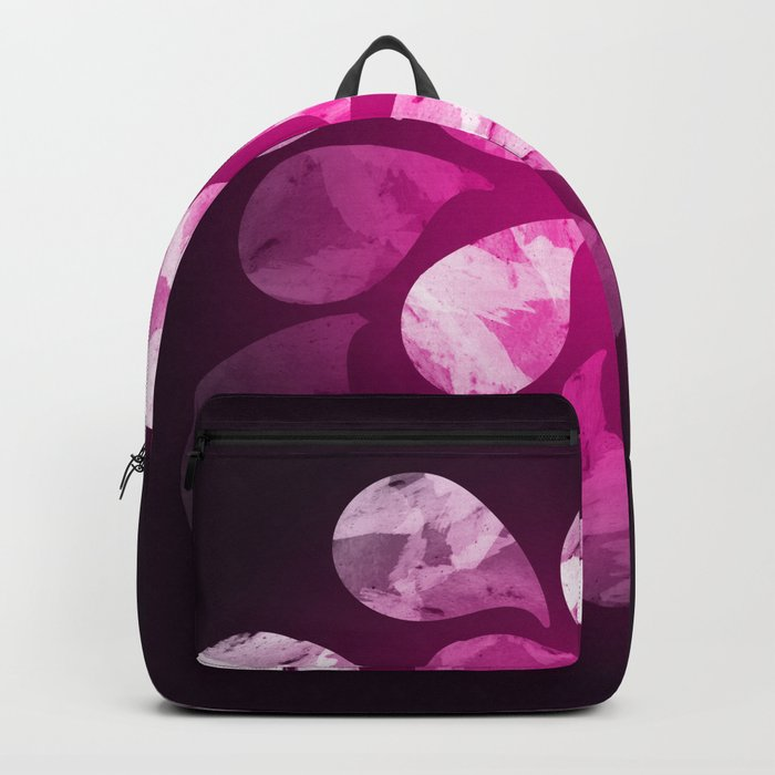 Abstract Water Drops X Backpack