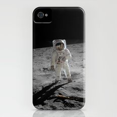 Astronaut Buzz Aldrin Apollo 11 original Photograph 1969 Standing on The Moon Print iPhone (4, 4s) Slim Case