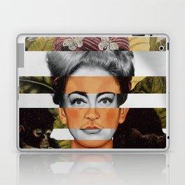 "Frida Kahlo ""Self Portrait with Thorn Necklace"" & Joan Crawford Laptop & iPad Skin"