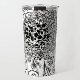 Big Eyes Octopus Travel Mug