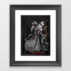 Shinigami Kiri-chan Framed Art Print