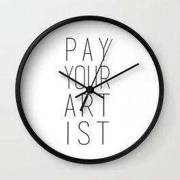 PYA no.3 Wall Clock