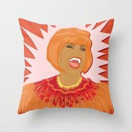 Celia Cruz | Bad Ass Women Series Throw Pillow