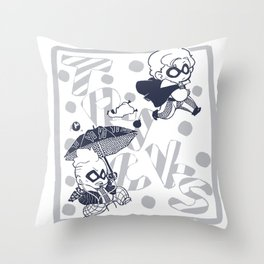 Tricky Throw Pillow