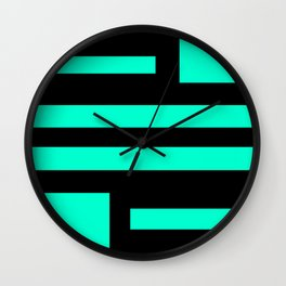 T-Striped Wall Clock