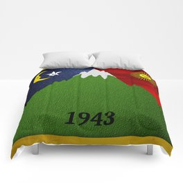 Bicycle Day 1943 Comforters