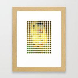 Gustav Klimt Remixed (2009) Framed Art Print