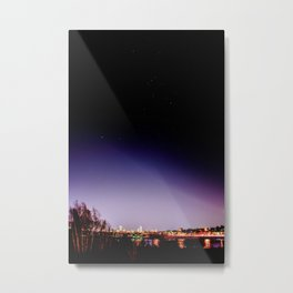Let's Spend Tonight On Top of the World Metal Print