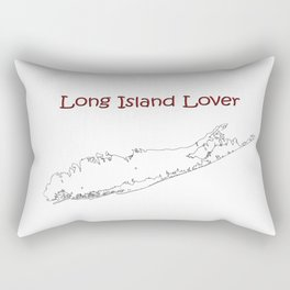Long Island Lover Rectangular Pillow