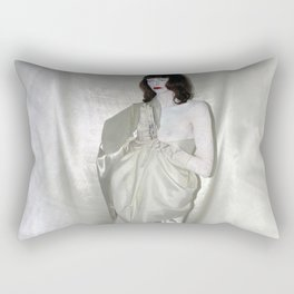 "say no to patriarchy / ""the religion"" Rectangular Pillow"