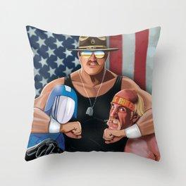 Sarge Rules Throw Pillow