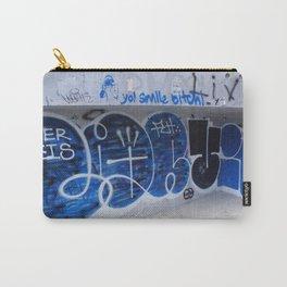 Yo Smile Bitch Graffiti Carry-All Pouch