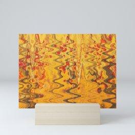 magic waves Mini Art Print